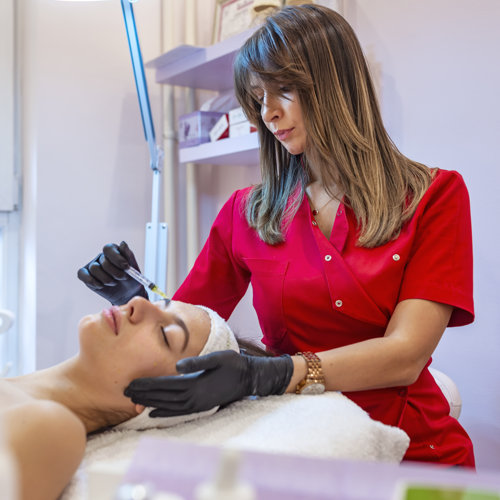 Mesotherapy - injection